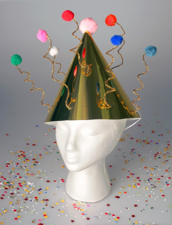Ring in 2012 with a festive party hat.