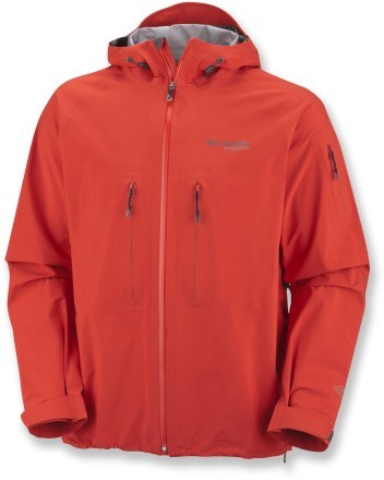 Columbia Peak 2 Peak Jacket ($350) has a lightweight shell — constructed out of an innovative three-layer fabric that is completely waterproof, windproof and breathable —  and is an Outside Gear of the Year 2011 winner.