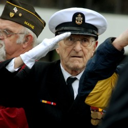 Bangor rite honors Pearl Harbor dead
