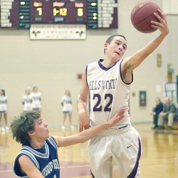 Ellsworth boys roll past GSA