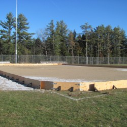 UMaine Machias opens new outdoor ice skating rink