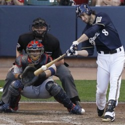 Brewers' Braun out to show he can shake off rough offseason