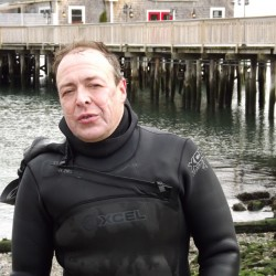 Kittery man making swim for Lighthouse Foundation