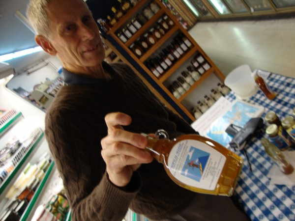 Jon Olsen, owner of Tropical Maine -- a proprietary blend of Maine maple syrup and passion fruit.