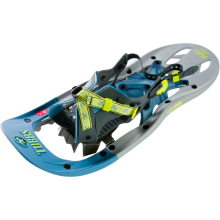 Tubbs FLEX TRK Snowshoe ($139) is ideal for people who are either new to snowshoeing or looking for a more comfortable snowshoe.