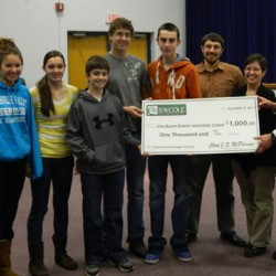 Student video results in $1,000 grant