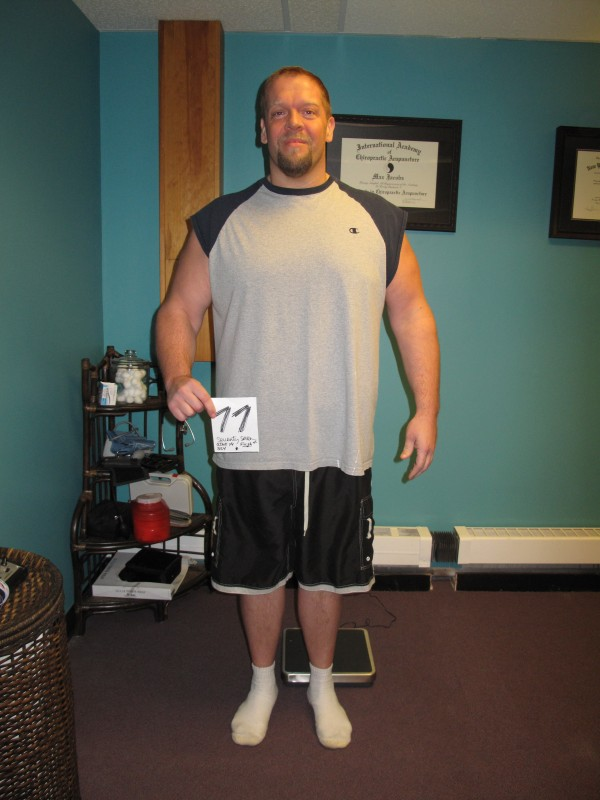 Jake Whitaker after &quotBiggest Loser.&quot He dropped 83 pounds, more than any other challenge participant.