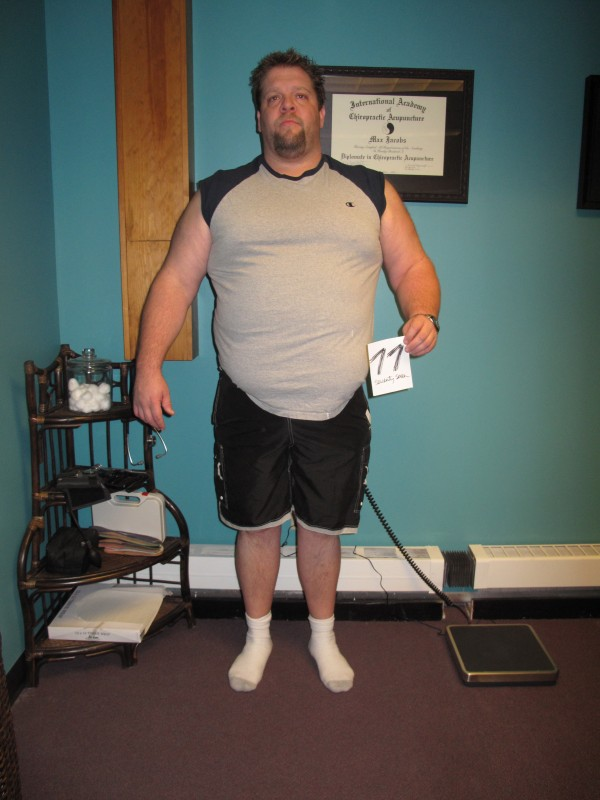 Jake Whitaker before his participation in Maine's 2011 &quotBiggest Loser&quot contest. Next year's challenge is dedicated to Whitaker, who died in November after a battle with lymphoma.