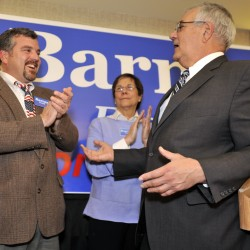 Bully Barney Frank leaves his pulpit