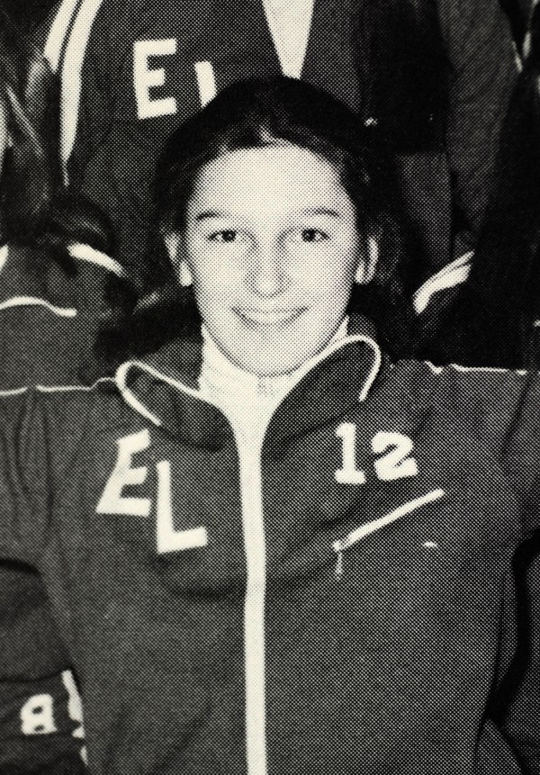 A 1979 Edward Little High School yearbook photo of then Allison Cummings with the gymnastics team. Allison (Cummings) Melangton is the top planner of Sunday's Super Bowl.  She is the CEO of the 2012 Indianapolis Super Bowl Host Committee.