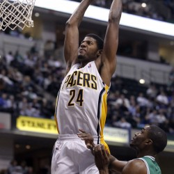 Hibbert leads Pacers past Celtics