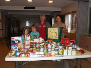 Corinna Food Pantry Donation