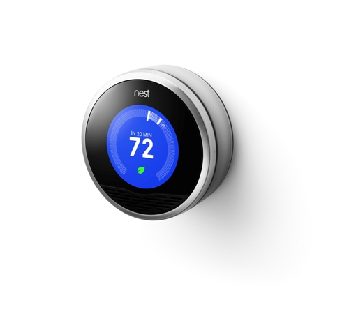 The Nest thermometer is not just another pretty face; it programs itself.
