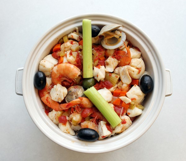 Slow cookers have been around for ages but are once again in vogue with recipes such as this bouillabaise.
