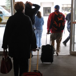 Traffic up 37 percent at Bangor airport