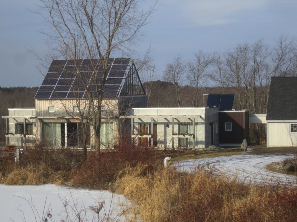"""Unity House,"" the president's home on campus, is a first-of-its-kind, Net-Zero home that serves as a living example of sustainable design and construction for the building industry."