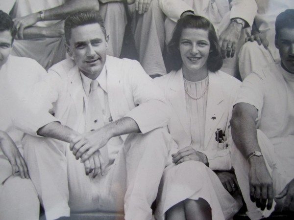 John and Janet Ordway in 1951, during their medical internship at Dartmouth.
