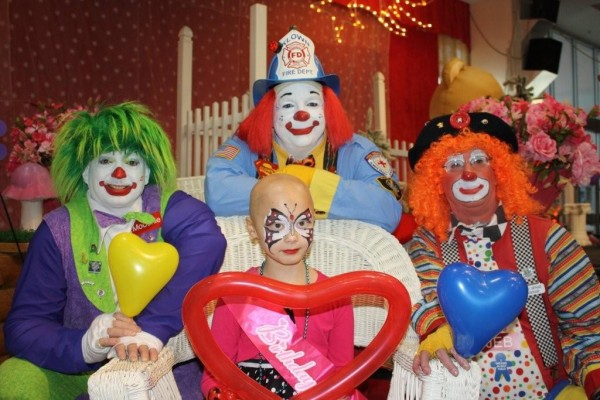 It was a day of clowns, cake and celebrity treatment for Hadley McClean, who celebrated her birthday with a community party at the Aroostook Center Mall on Saturday.