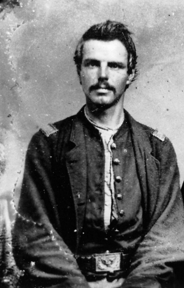 John S. French, who joined the 5th Maine Infantry Regiment as a private in spring 1861, was a commissioned officer by the time this photo was taken sometime after mid-June 1863. He was a naturally talented soldier who rose through the ranks to lead men into battle at Rappahannock Station, Va. that November.