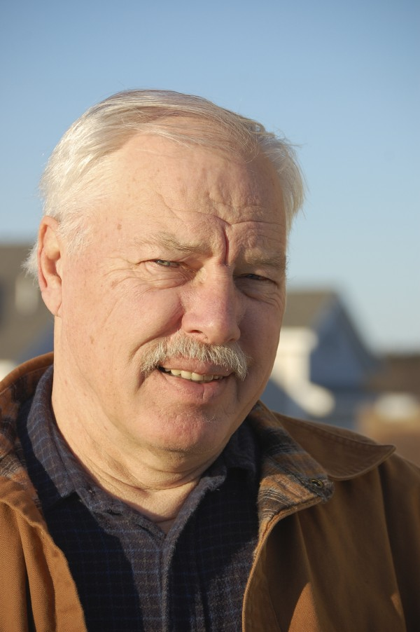 Larry Finnegan, chairman of Keepers of Moose Peak Light