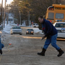 Girl, 6, hit by Lincoln school bus in serious condition