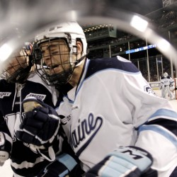 Veteran Maine forwards hope to snap scoring slumps against Vermont this weekend