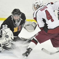 Bangor, John Bapst open high school hockey tourney Tuesday night in 'A,' 'B'