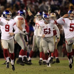 49ers, Giants renew playoff rivalry for NFC crown