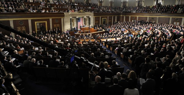 President Barack Obama delivers his State of the Union address on Capitol Hill  in Washington on Tuesday, Jan. 24, 2012.