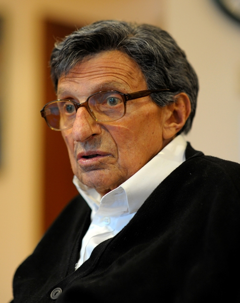 Former Coach Joe Paterno is currently undergoing chemotherapy and radiation to treat lung cancer.
