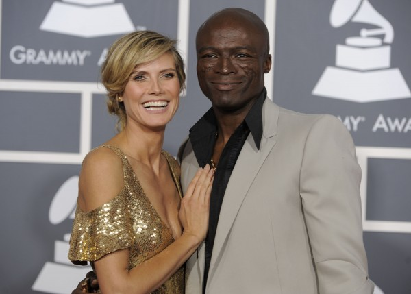 Heidi Klum and Seal arrive at the 53rd annual Grammy Awards in Los Angeles in February 2011. In a statement Sunday, Jan. 22, 2012, the power-couple announced their separation. They say after &quotmuch soul searching&quot they've decided to separate, and blame the breakup on &quotgrowing apart.&quot They married in 2005.