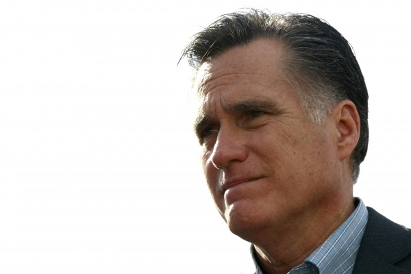 Republican presidential candidate, former Massachusetts Gov. Mitt Romney, pauses while speaking at his campaign headquarters in Charleston, S.C., Thursday, Jan. 19, 2012.