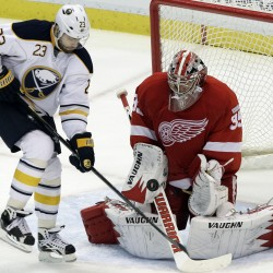 Red Wings put in claim for Nabokov