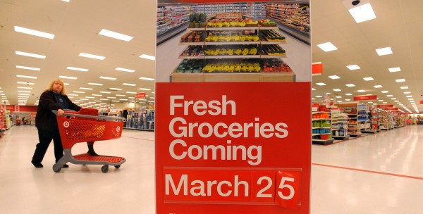 Bangor's Target store is expanding its grocery offerings by downsizing other departments such as sporting goods, automotive and clothing. The ongoing renovations should be finished by the end of March.