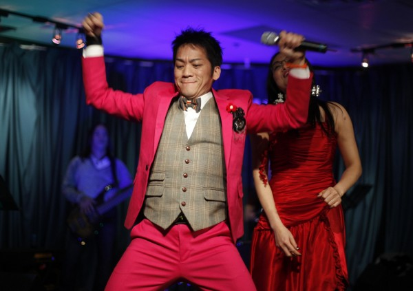 Singer Don Ho performs at the Vietnamese Lunar New Year's celebration, Saturday, Jan. 14, in Portland.