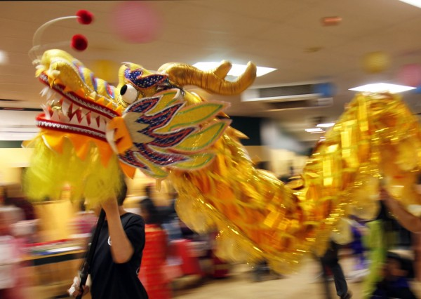 Performers celebrate the Year of the Dragon, Saturday, Jan. 14, in Portland. In Asian culture the Dragon is believed to bring luck, strength and wisdom.