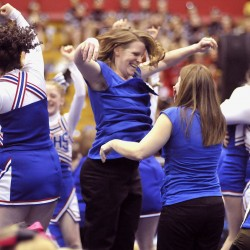 Central Aroostook claims sixth state Class D cheering title in 7 years; Biddeford wins Class A
