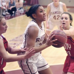 Butler-to-Stewart combination sparks Bangor girls to win over Lawrence