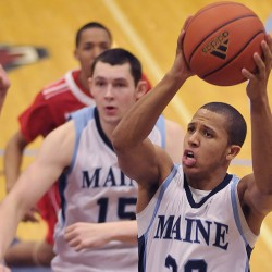 Hartford men roll by Maine