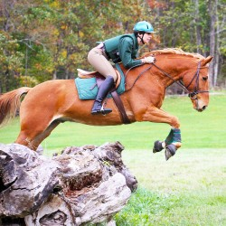 First instructor fostered a love of equestrian events
