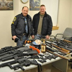 Wilton detective praised for recovering 19 stolen firearms