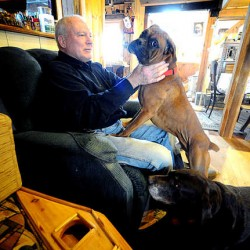 Lewiston couple loves disabled puppy 'just the same'