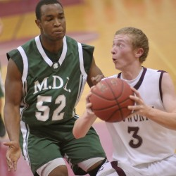 MDI boys top Ellsworth before crowd of 1,400 to finish undefeated regular season