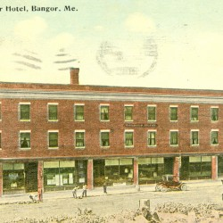 Cotton reigned briefly in Bangor