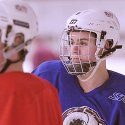 Goalie Manning's return to hockey fuels Hampden Academy resurgence