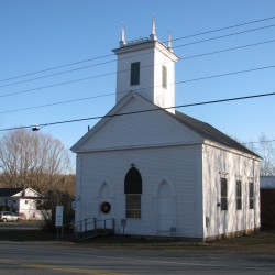 Whiting Village Church named to National Register of Historic Landmarks