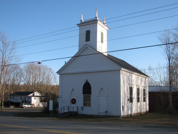 The Troy Union Meeting House, built in 1840, has made it to the National Register of Historic Places. The Maine Historic Preservation Commission singled it out as a significant example of rural church architecture.