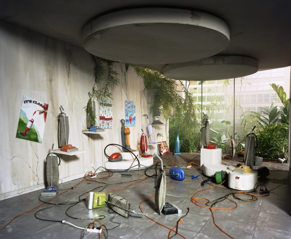 &quotVacuum Showroom&quot chromogenic print by Lori Nix in 2006 will be on display at the University of Maine Museum of Art in Bangor through March 24, 2012.