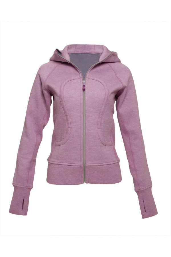 The Scuba hoodie ($108) from lululemon athletica features a deep hood, high collar, thumbholes to keep sleeves down and an emergency hair tie on the zipper. See more at www.lululemonathletica.com.