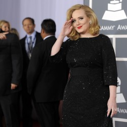Will Adele be the belle of the Grammy ball?